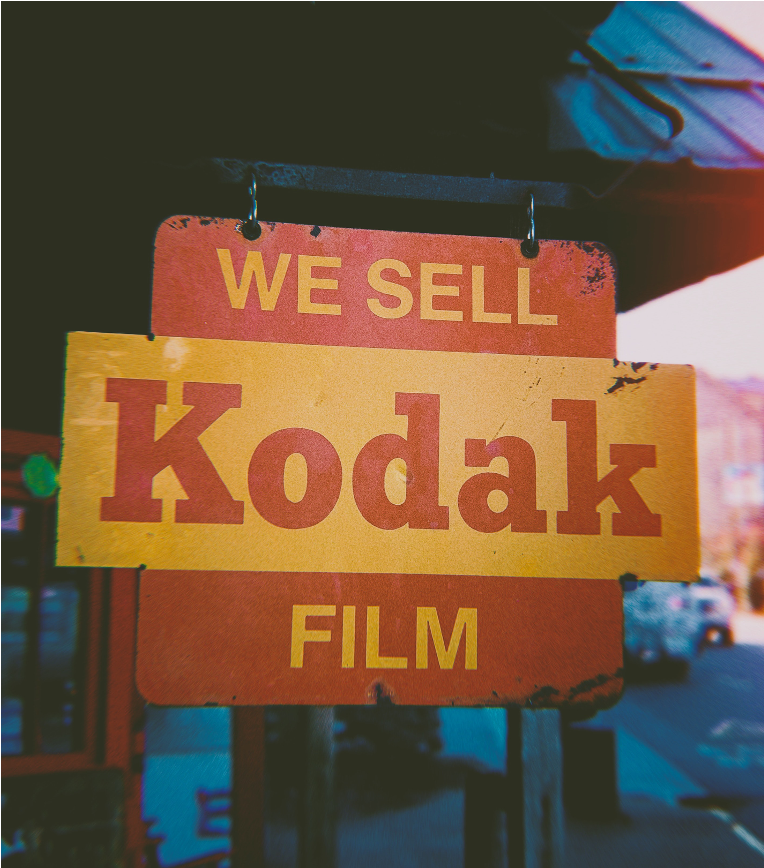 We see Kodak film